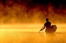 Canoeatsunset